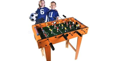 Bordfodbold kan udvikle folks sociale kompetencer